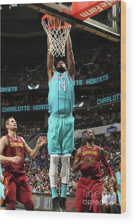 Nba Pro Basketball Wood Print featuring the photograph Michael Kidd-gilchrist by Brock Williams-smith