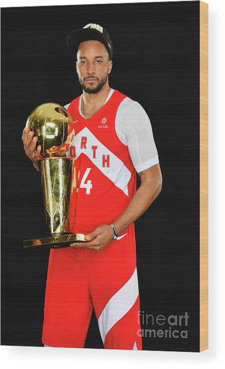 Playoffs Wood Print featuring the photograph Norman Powell by Jesse D. Garrabrant
