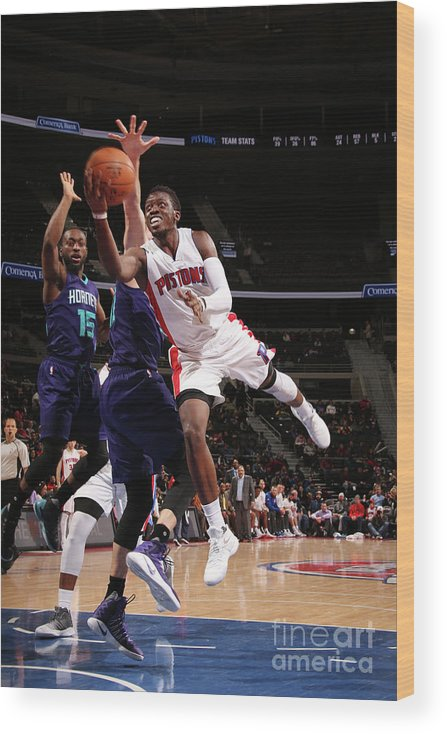 Nba Pro Basketball Wood Print featuring the photograph Reggie Jackson by Brian Sevald
