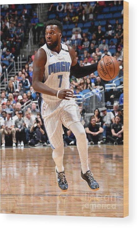 Nba Pro Basketball Wood Print featuring the photograph Shelvin Mack by Fernando Medina