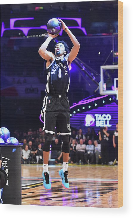 Event Wood Print featuring the photograph Spencer Dinwiddie by Jesse D. Garrabrant
