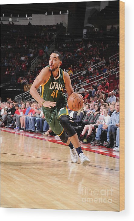Nba Pro Basketball Wood Print featuring the photograph Trey Lyles by Bill Baptist