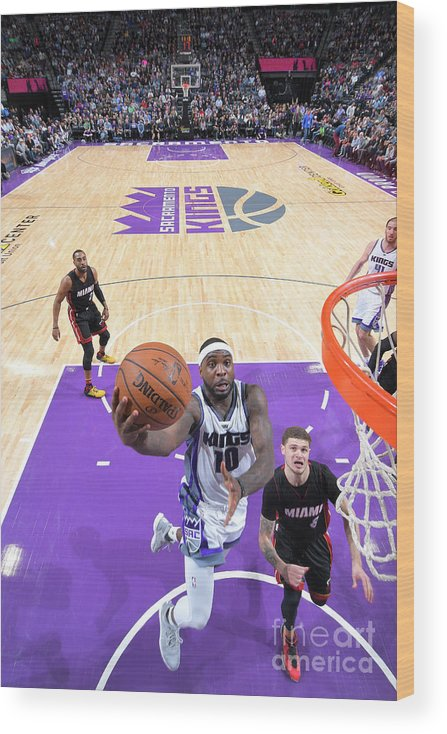 Nba Pro Basketball Wood Print featuring the photograph Ty Lawson by Rocky Widner