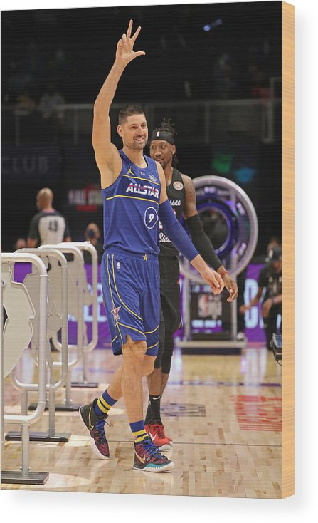 Atlanta Wood Print featuring the photograph 2021 NBA All-Star - Taco Bell Skills Challenge by Joe Murphy
