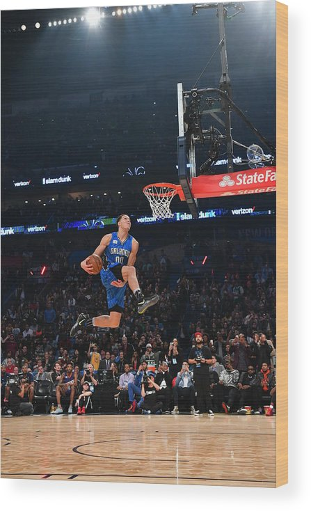 Event Wood Print featuring the photograph Aaron Gordon by Jesse D. Garrabrant