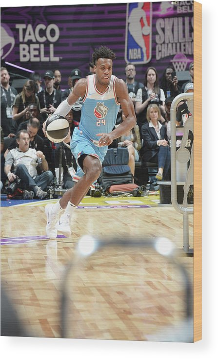 Event Wood Print featuring the photograph Buddy Hield by Andrew D. Bernstein