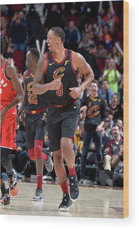 Nba Pro Basketball Wood Print featuring the photograph Channing Frye by David Liam Kyle