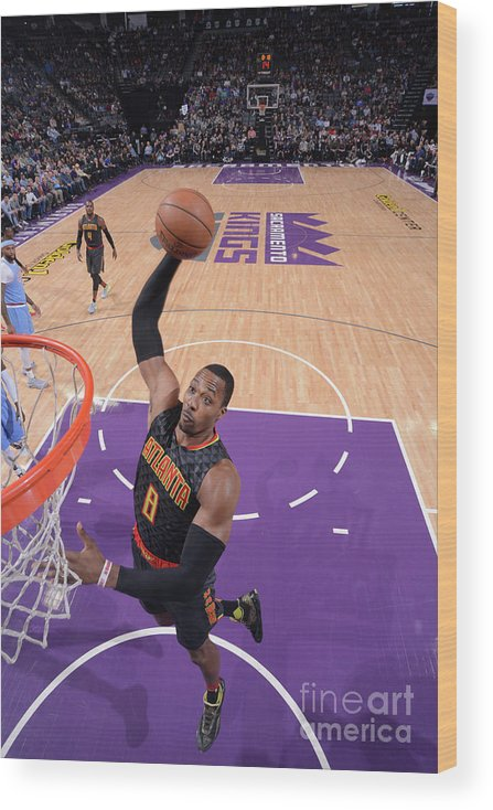 Nba Pro Basketball Wood Print featuring the photograph Dwight Howard by Rocky Widner