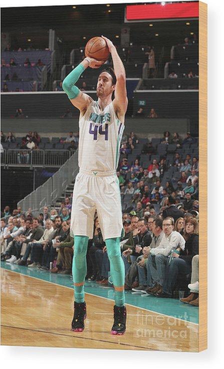 Nba Pro Basketball Wood Print featuring the photograph Frank Kaminsky by Kent Smith