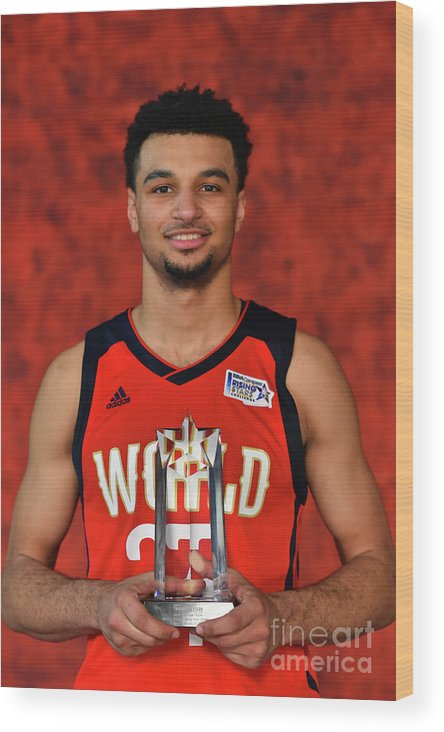 Smoothie King Center Wood Print featuring the photograph Jamal Murray by Jesse D. Garrabrant