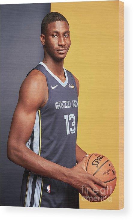 Nba Pro Basketball Wood Print featuring the photograph Jaren Jackson by Jennifer Pottheiser