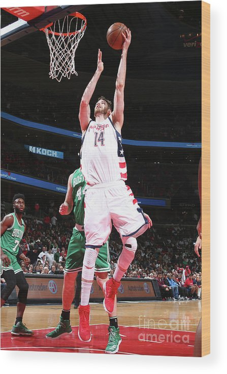 Playoffs Wood Print featuring the photograph Jason Smith by Ned Dishman