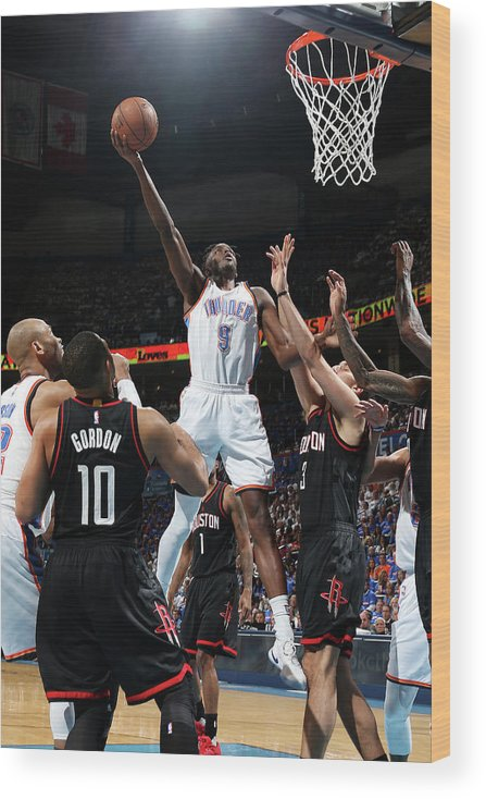 Playoffs Wood Print featuring the photograph Jerami Grant by Layne Murdoch