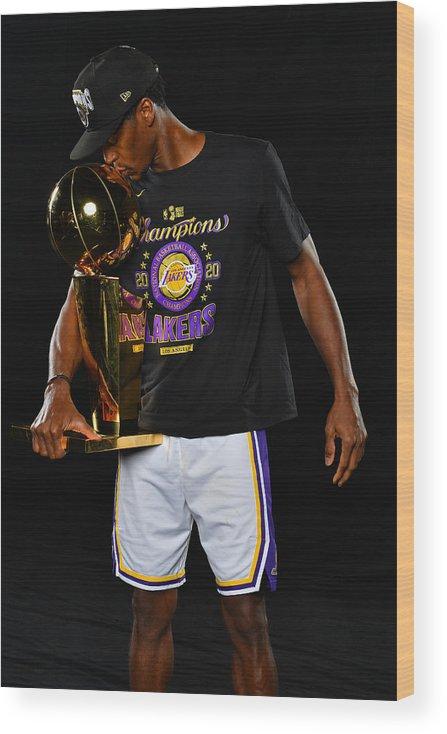 Playoffs Wood Print featuring the photograph Rajon Rondo by Jesse D. Garrabrant