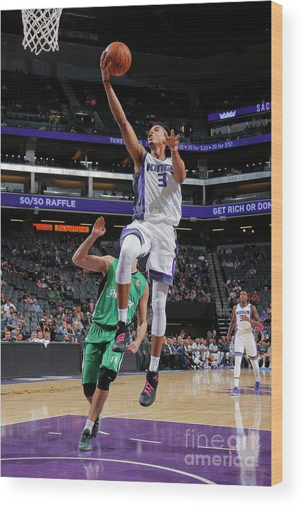Maccabi Haifa Wood Print featuring the photograph Skal Labissiere by Rocky Widner