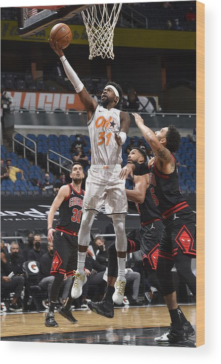Nba Pro Basketball Wood Print featuring the photograph Terrence Ross by Gary Bassing