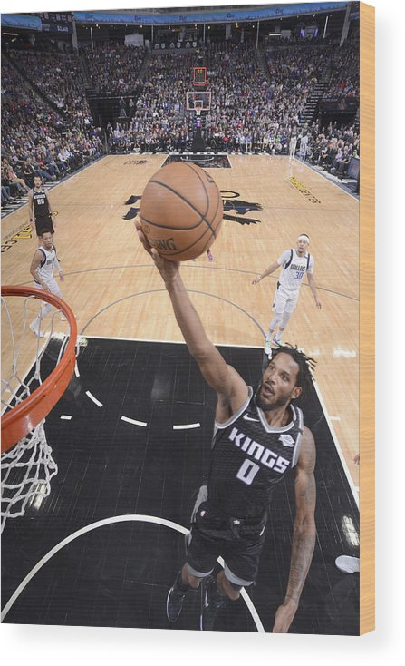 Nba Pro Basketball Wood Print featuring the photograph Trevor Ariza by Rocky Widner
