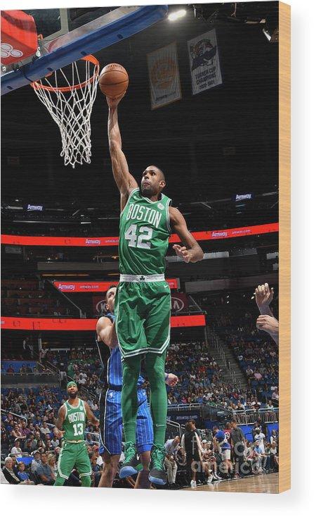 Nba Pro Basketball Wood Print featuring the photograph Al Horford by Fernando Medina