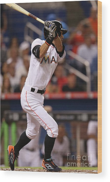 Second Inning Wood Print featuring the photograph Ichiro Suzuki by Rob Foldy