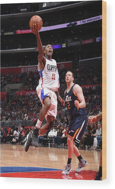 Nba Pro Basketball Wood Print featuring the photograph Jamal Crawford by Andrew D. Bernstein