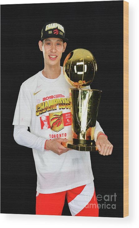 Playoffs Wood Print featuring the photograph Jeremy Lin by Jesse D. Garrabrant