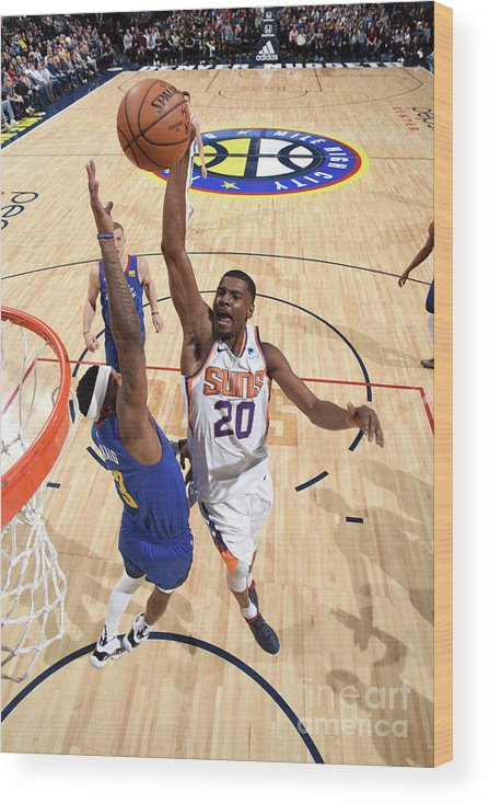 Nba Pro Basketball Wood Print featuring the photograph Josh Jackson by Garrett Ellwood