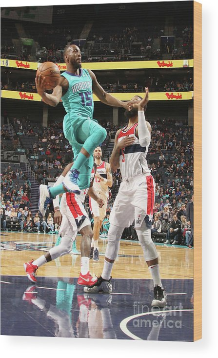 Kemba Walker Wood Print featuring the photograph Kemba Walker by Brock Williams-smith