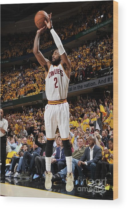Playoffs Wood Print featuring the photograph Kyrie Irving by David Liam Kyle