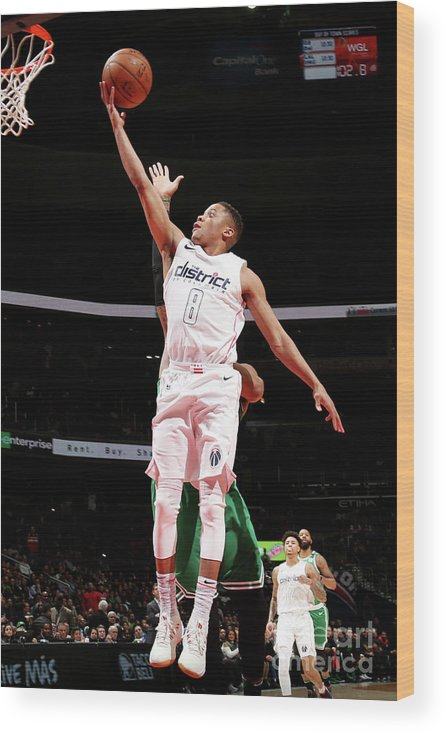 Nba Pro Basketball Wood Print featuring the photograph Tim Frazier by Ned Dishman