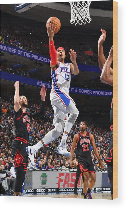Nba Pro Basketball Wood Print featuring the photograph Tobias Harris by Jesse D. Garrabrant