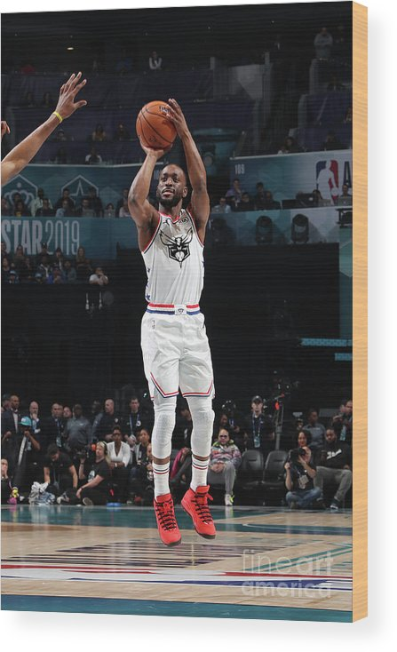 Kemba Walker Wood Print featuring the photograph Kemba Walker by Nathaniel S. Butler
