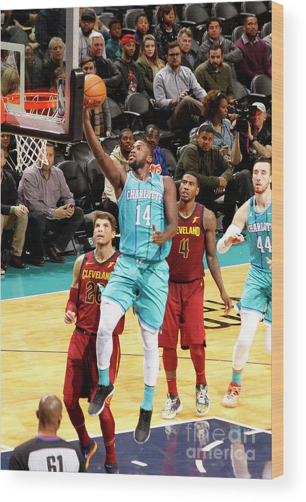 Nba Pro Basketball Wood Print featuring the photograph Michael Kidd-gilchrist by Kent Smith