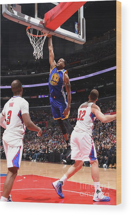 Nba Pro Basketball Wood Print featuring the photograph Andre Iguodala by Andrew D. Bernstein
