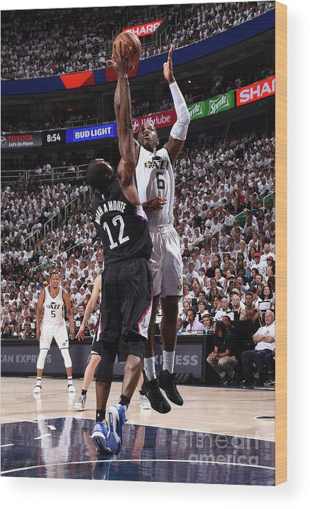 Playoffs Wood Print featuring the photograph Joe Johnson by Andrew D. Bernstein