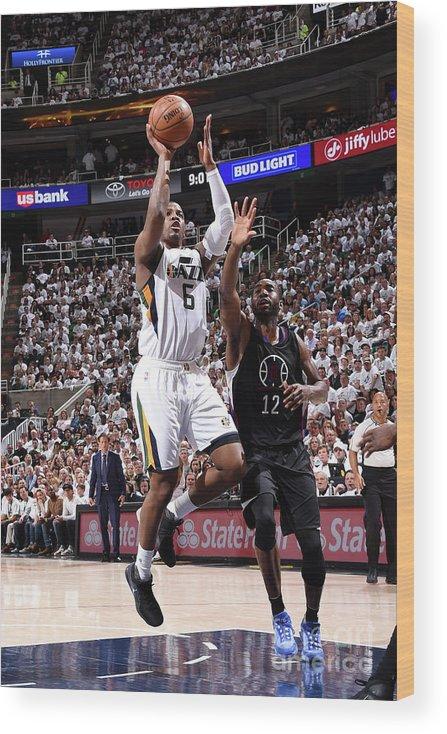 Playoffs Wood Print featuring the photograph Joe Johnson by Andrew D. Bernstein