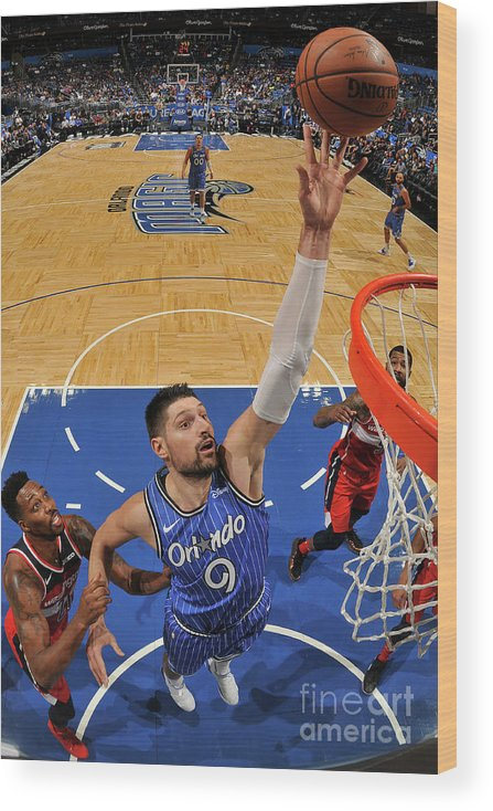 Nba Pro Basketball Wood Print featuring the photograph Dwight Howard by Fernando Medina