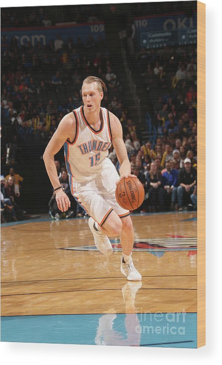 Nba Pro Basketball Wood Print featuring the photograph Kyle Singler by Layne Murdoch