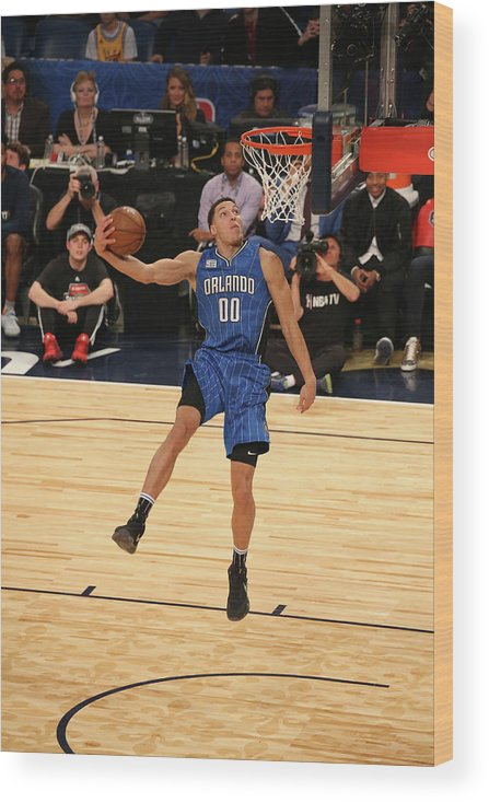 Event Wood Print featuring the photograph Aaron Gordon by Gary Dineen