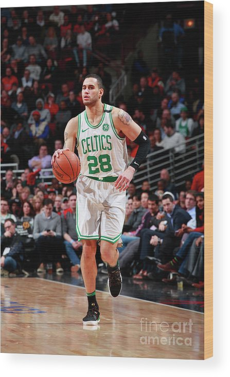 Nba Pro Basketball Wood Print featuring the photograph Abdel Nader by Jeff Haynes