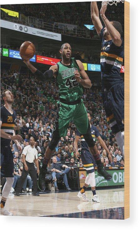 Nba Pro Basketball Wood Print featuring the photograph Al Horford by Melissa Majchrzak