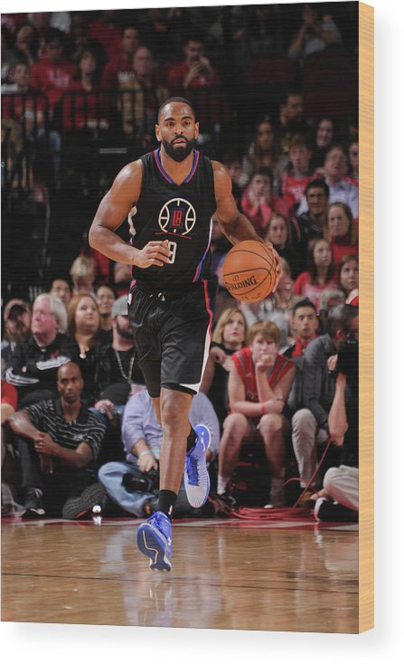 Nba Pro Basketball Wood Print featuring the photograph Alan Anderson by Bill Baptist