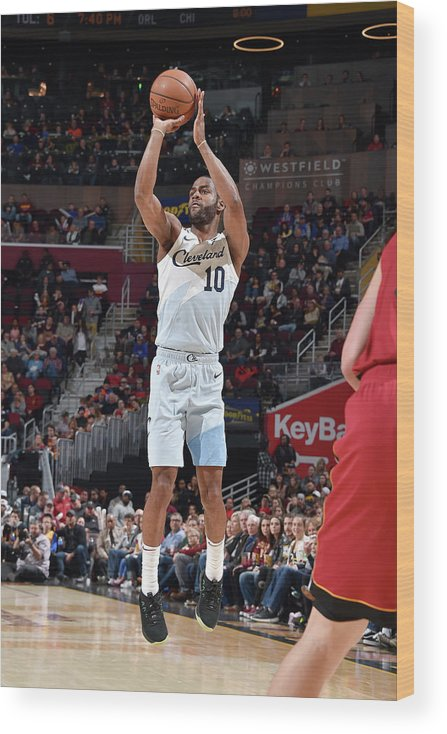 Nba Pro Basketball Wood Print featuring the photograph Alec Burks by David Liam Kyle