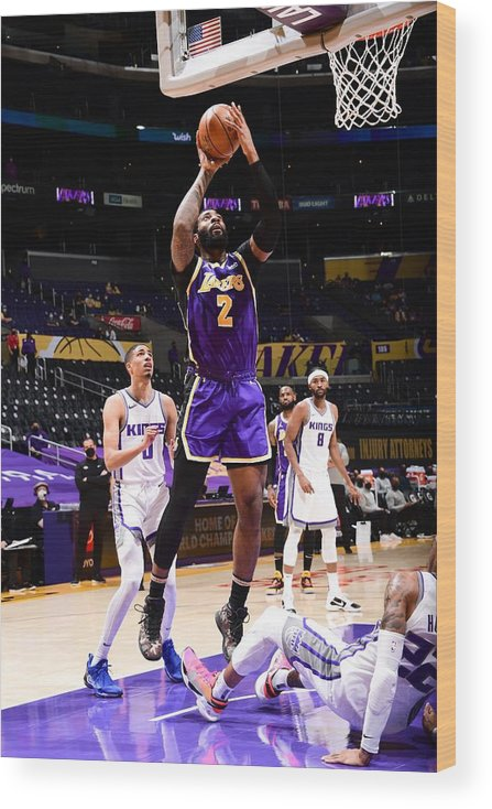 Nba Pro Basketball Wood Print featuring the photograph Andre Drummond by Adam Pantozzi