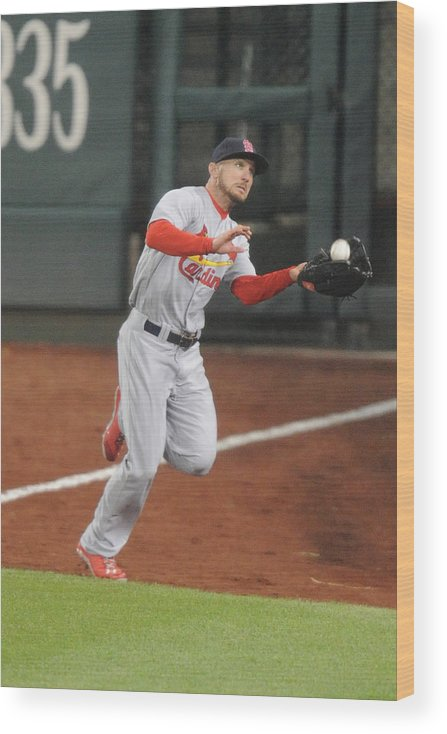 St. Louis Cardinals Wood Print featuring the photograph Anthony Rendon by Mitchell Layton