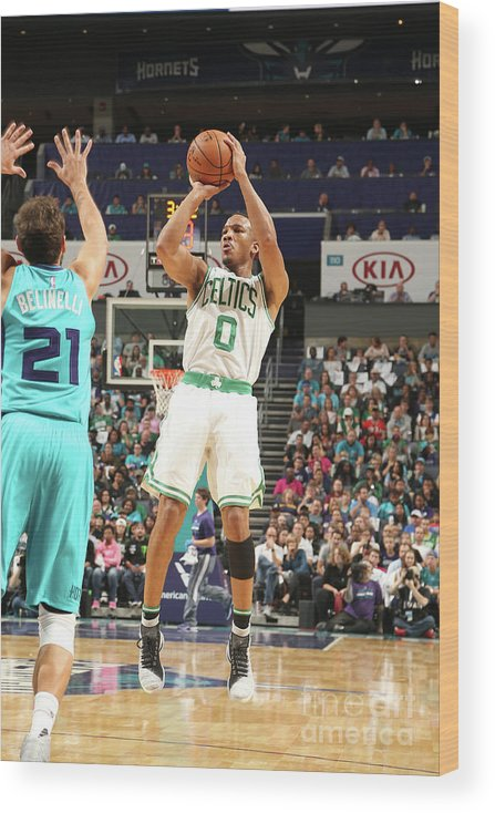 Nba Pro Basketball Wood Print featuring the photograph Avery Bradley by Kent Smith