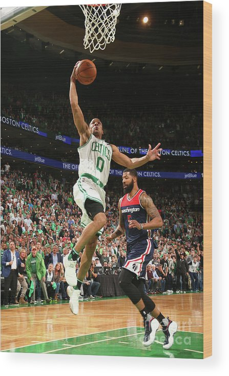 Playoffs Wood Print featuring the photograph Avery Bradley by Ned Dishman
