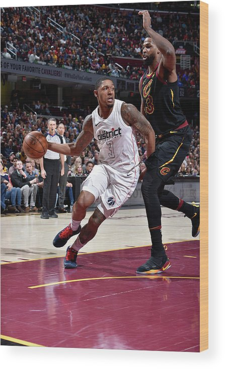 Nba Pro Basketball Wood Print featuring the photograph Bradley Beal by David Liam Kyle