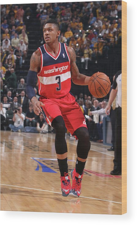 Sport Wood Print featuring the photograph Bradley Beal by Gary Dineen