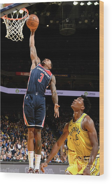 Nba Pro Basketball Wood Print featuring the photograph Bradley Beal by Noah Graham