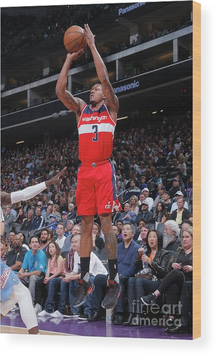Nba Pro Basketball Wood Print featuring the photograph Bradley Beal by Rocky Widner